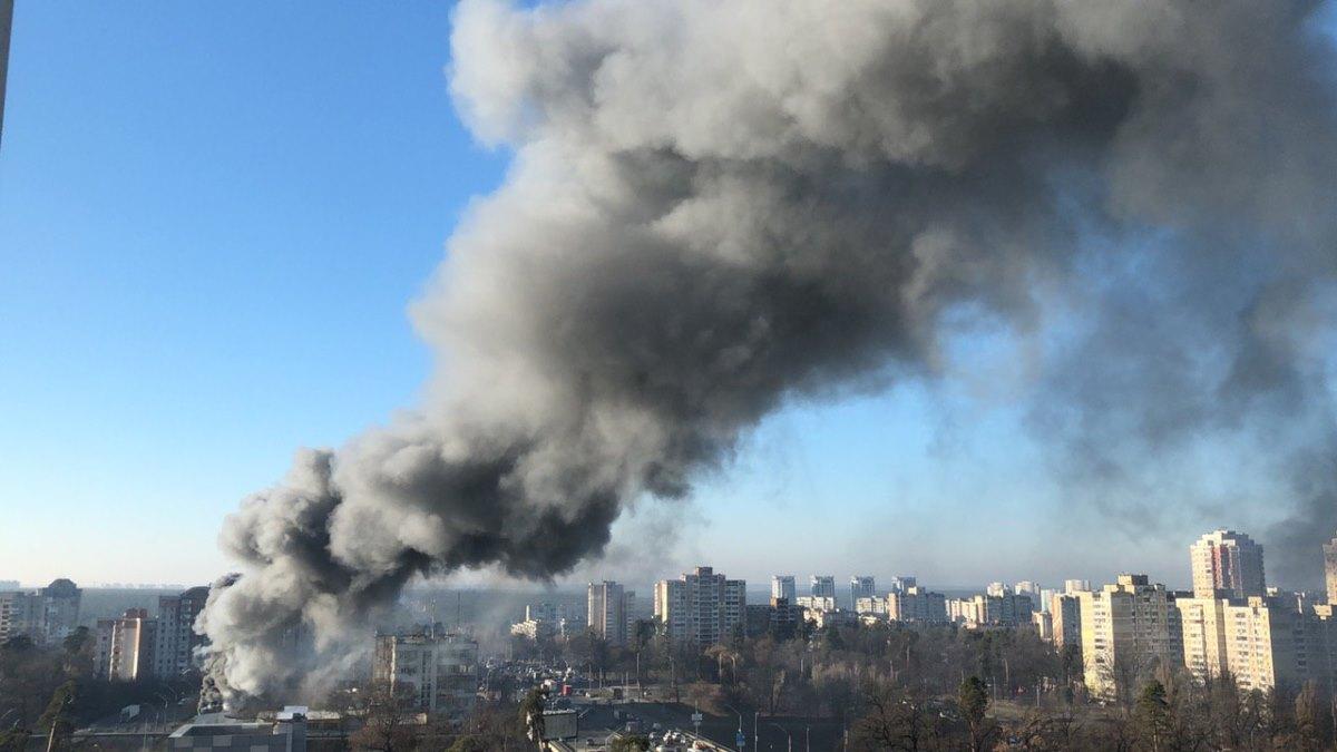 Из-за угрозы распространения огня возгоранию был присвоен ранг повышенной сложности