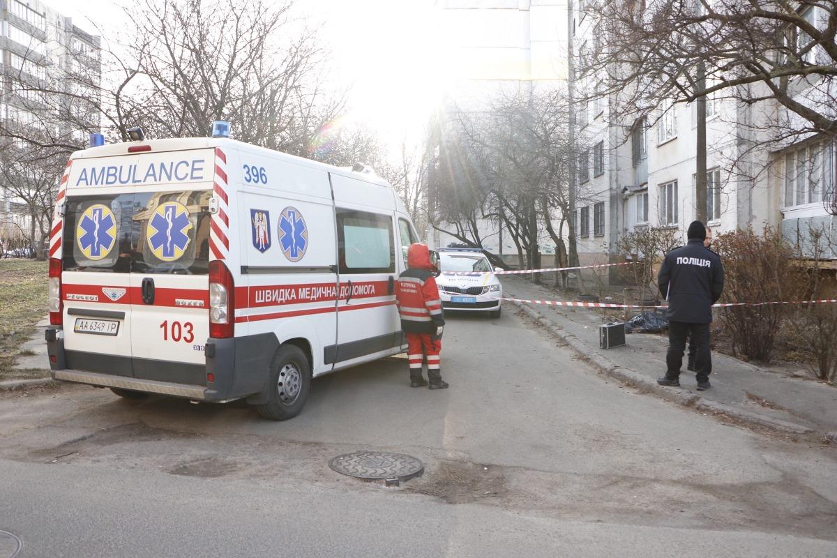 9 декабря в Киеве по адресу улица Орловская, 15 произошел трагический случай