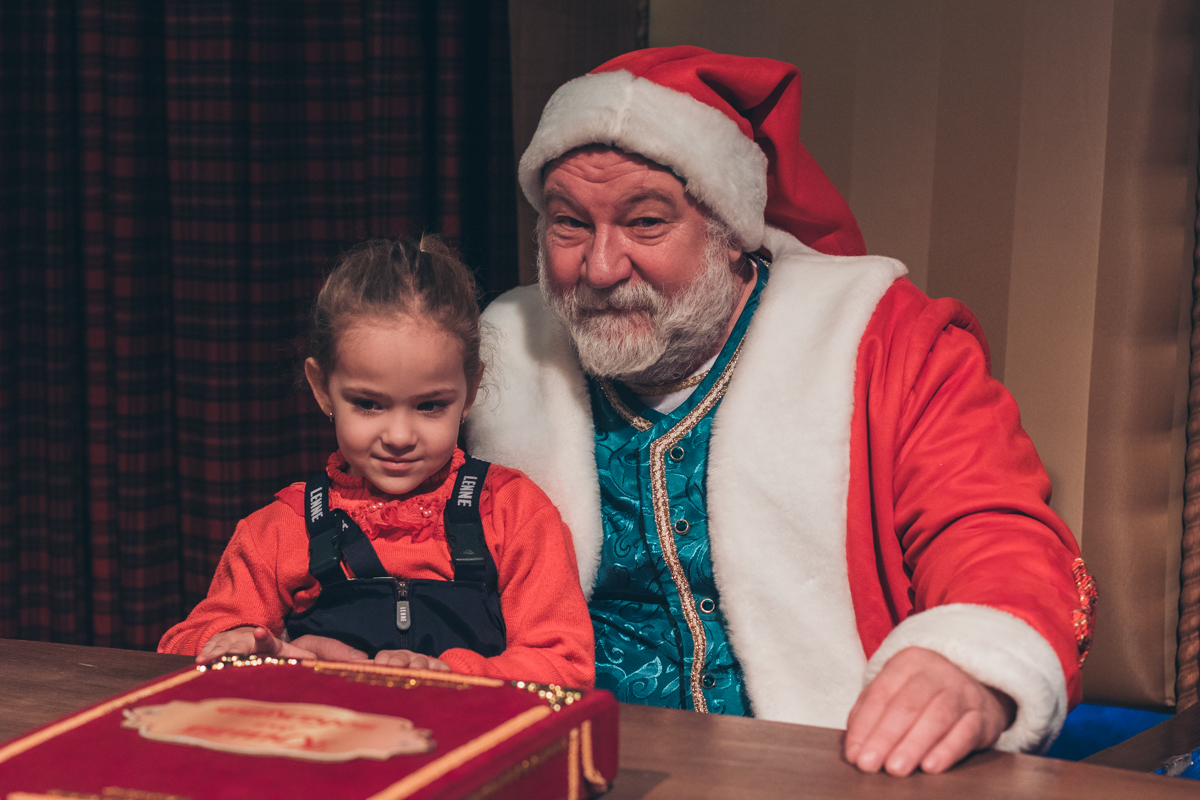 Специально к праздникам в девятом павильоне ВДНГ устроили новогоднее шоу