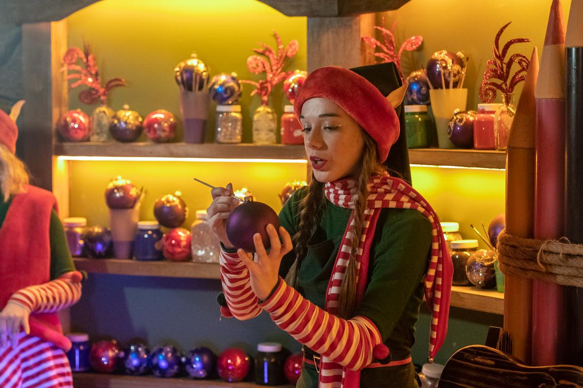 «Рождественская фабрика мечт» — новая локация «Зимової країни на ВДНГ»