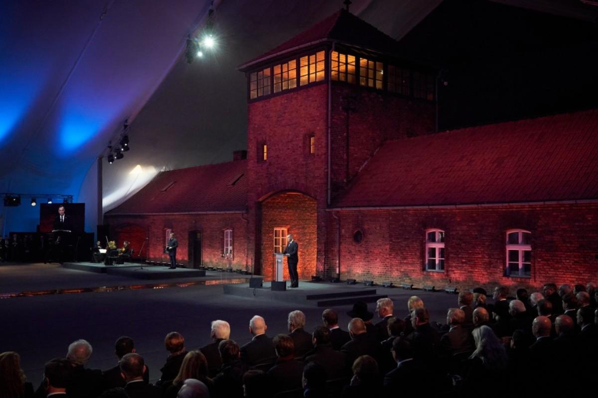 75 годовщина освобождения концлагеря Аушвиц