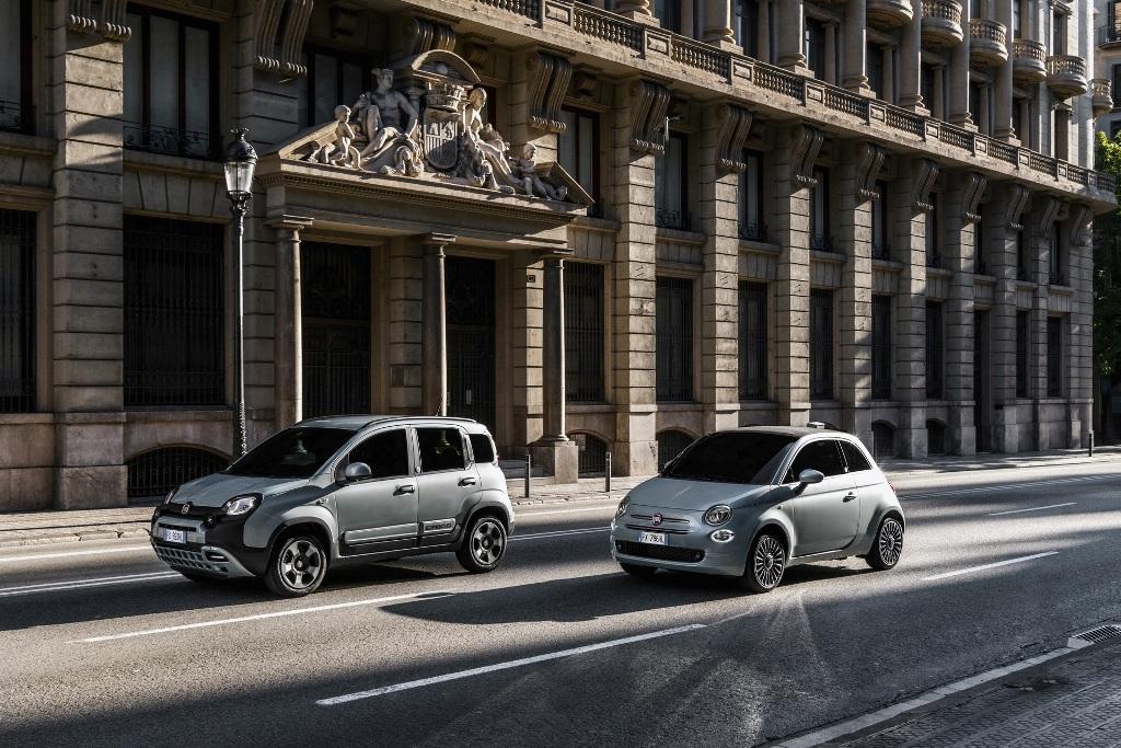 Fiat представил свои первые электрифицированные модели