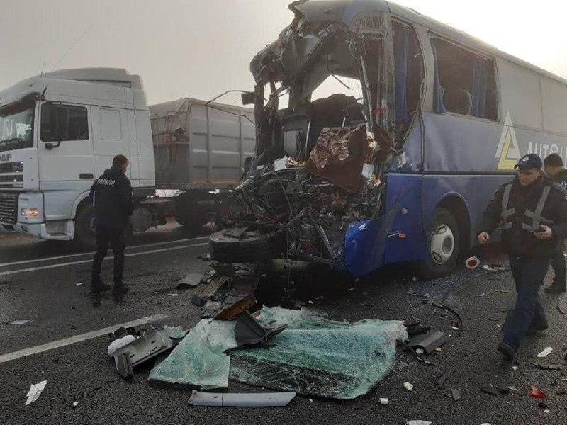 По предварительной информации, погиб водитель автобуса
