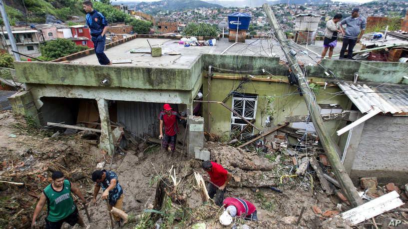 В Бразилии наводнения и оползни стали причиной смерти 30 человек