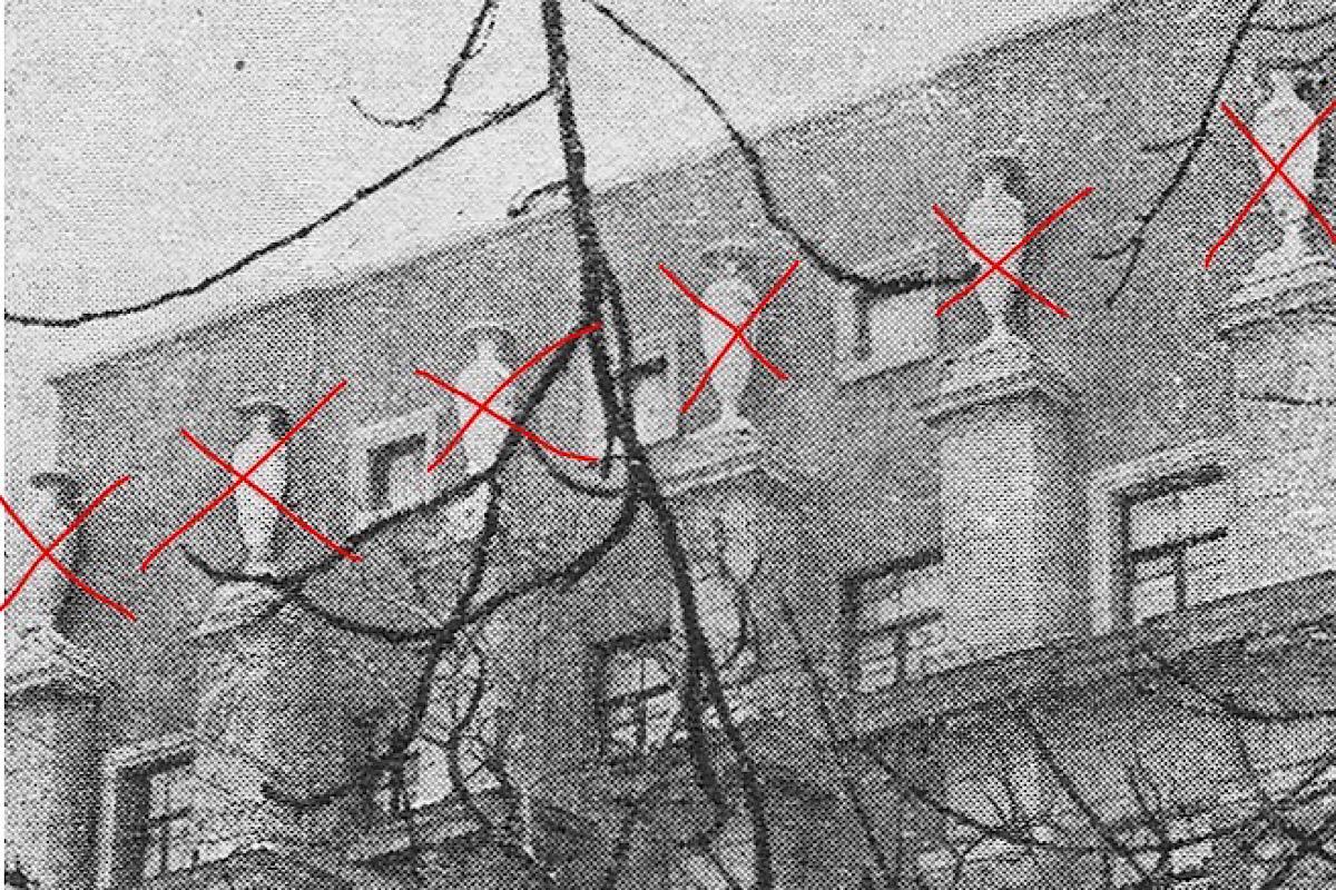 Вазы, которые пропали в доме № 4 на улице Лысенко