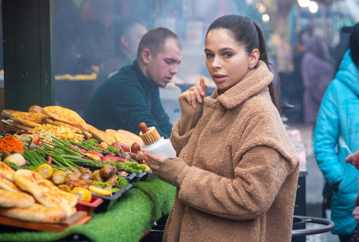 Жители Киева сходятся на все горяченькое