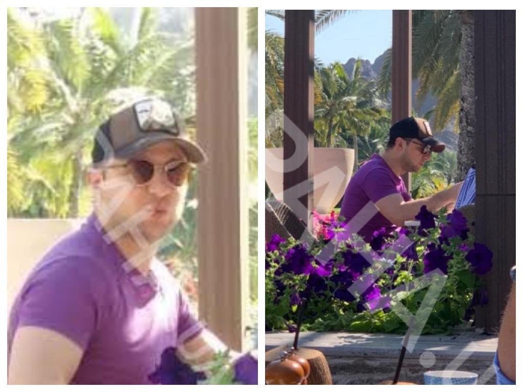 Зеленского сфотографировали во время обеда в ресторане отеля