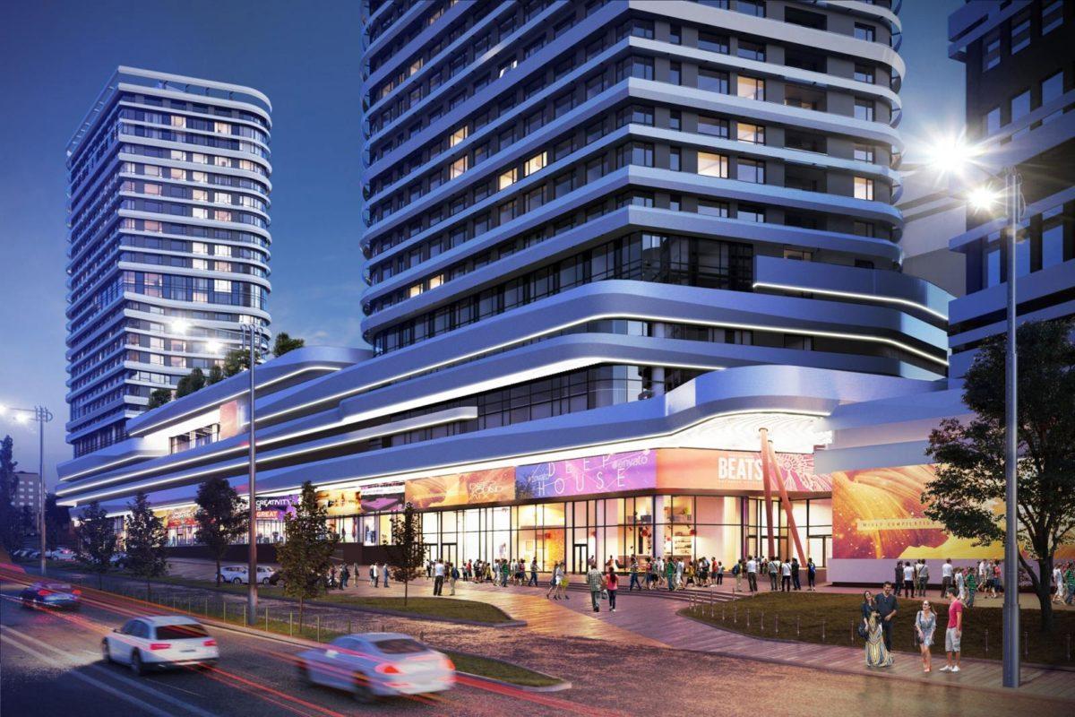 Торгово-развлекательный центр White Lines разместится в Голосеевском районе
