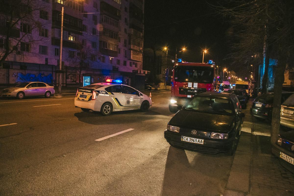 Сообщение о происшествии поступило на линии экстренных служб около 02:00