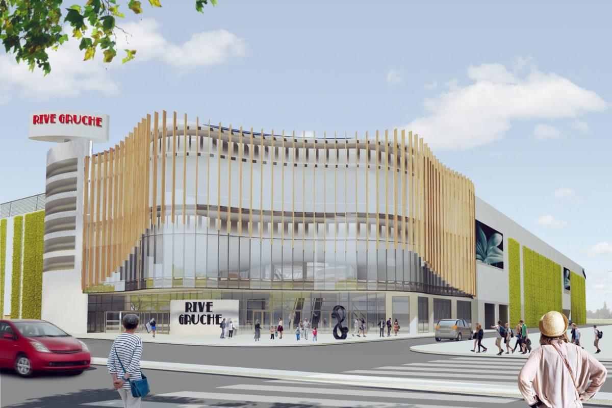 ТРЦ Rive Gauche - один из немногих торговых центров в Украине с иностранным капиталом