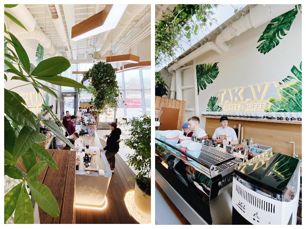 На Подоле открылась четвертая кофейня Takava