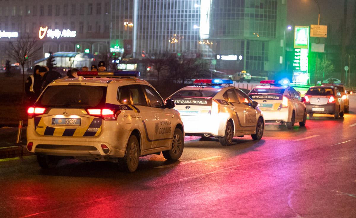 ДТП произошло поздно вечером на Харьковской площади