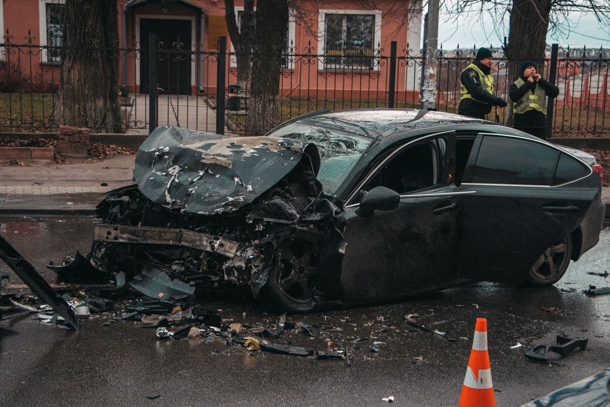 """Авария случилась возле ЖК """"Счастливый"""""""