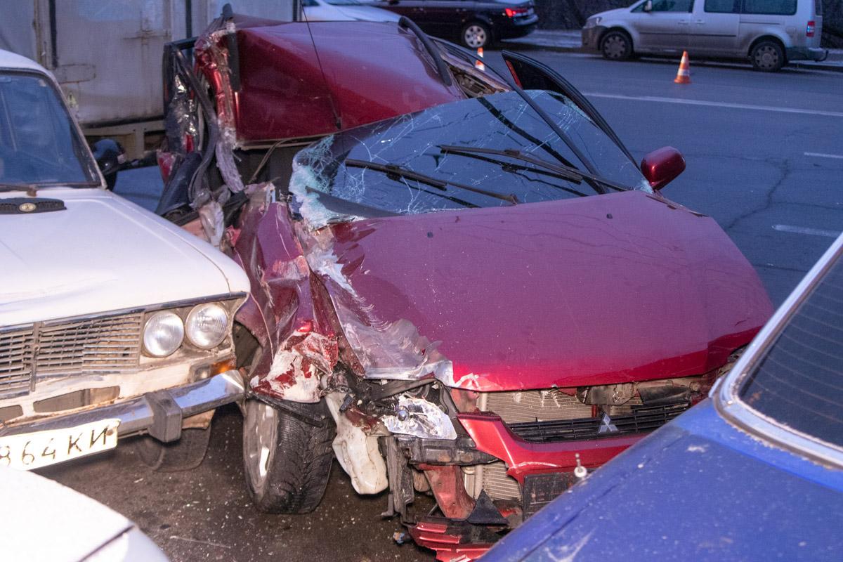 Виновником ДТП стал водитель Mitsubishi, который находился в состоянии алкогольного опьянения