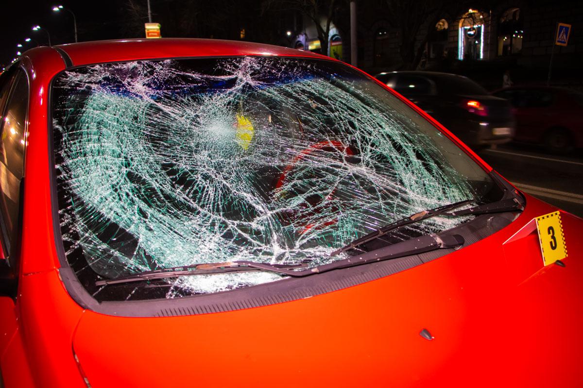 Авария случилась около 18:00