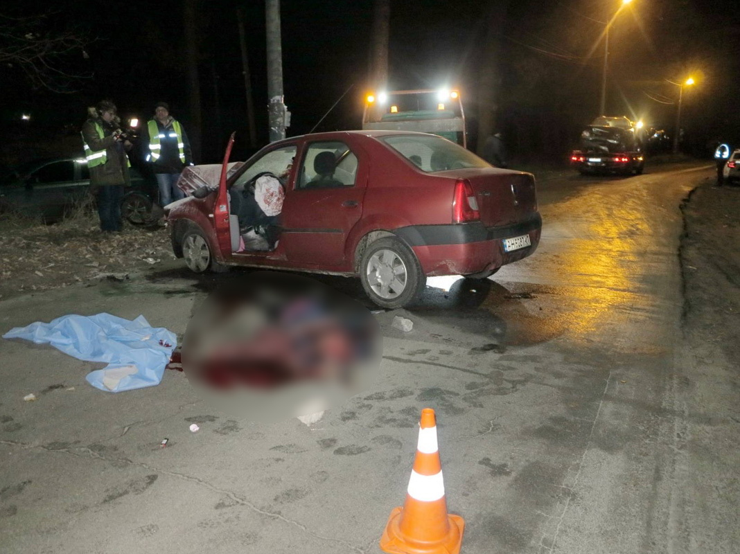 В результате аварии погиб молодой парень