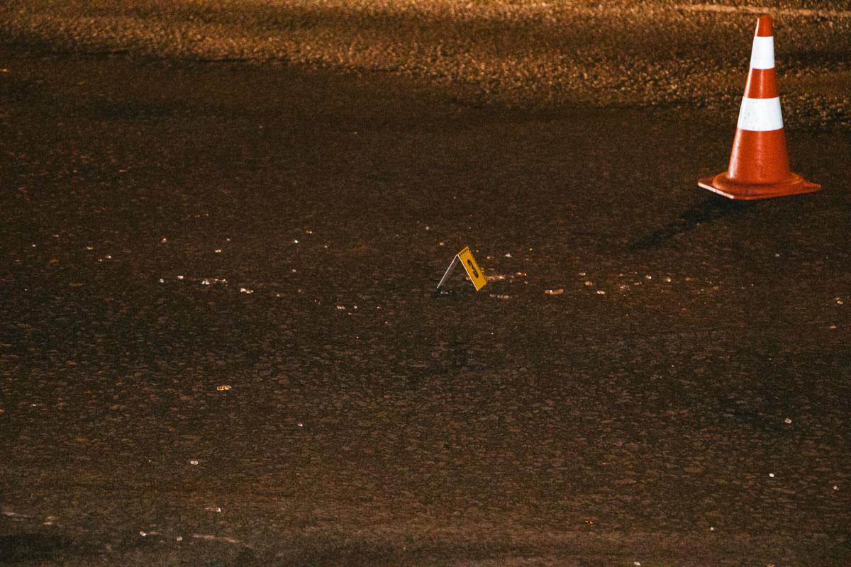 После ДТП неизвестный автомобиль скрылся с места ДТП