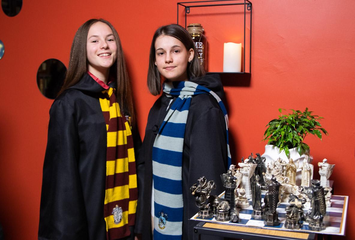 Магическая школа ждет юных волшебников