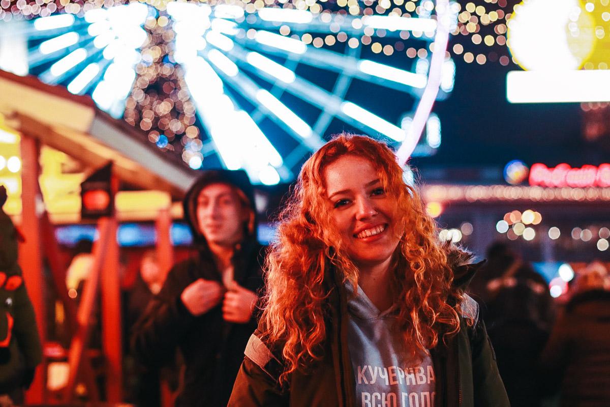 Наш фотограф только и успевал щелкать своим фотоаппаратом счастливых гостей и жителей Киева