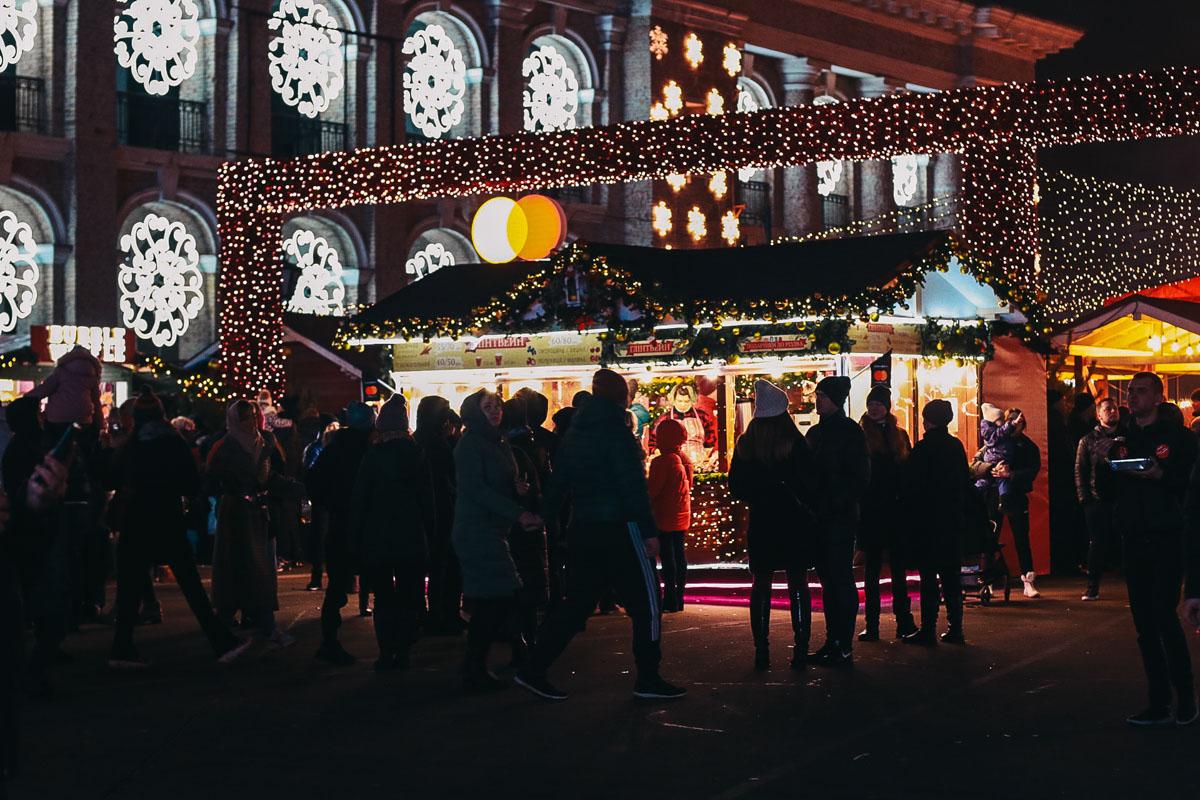 Мы уже отпраздновали Новый год, но, согласитесь, атмосфера праздника еще совсем не хочет покидать Киев
