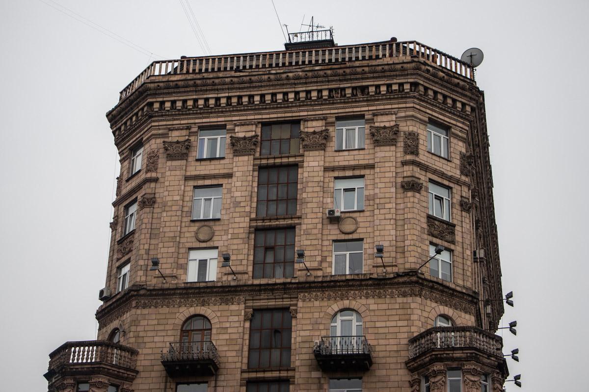 Дом № 23 на улице Крещатик