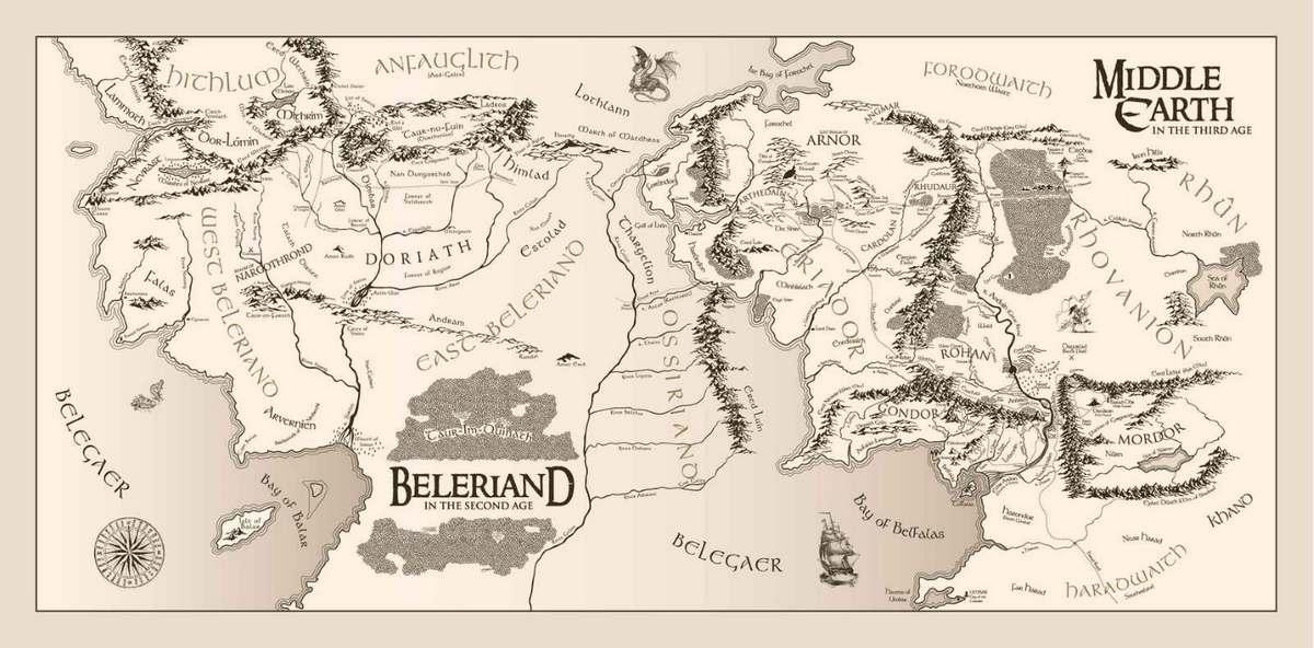 Кристофер Толкин рисовал знаменитые карты романа Властелин колец