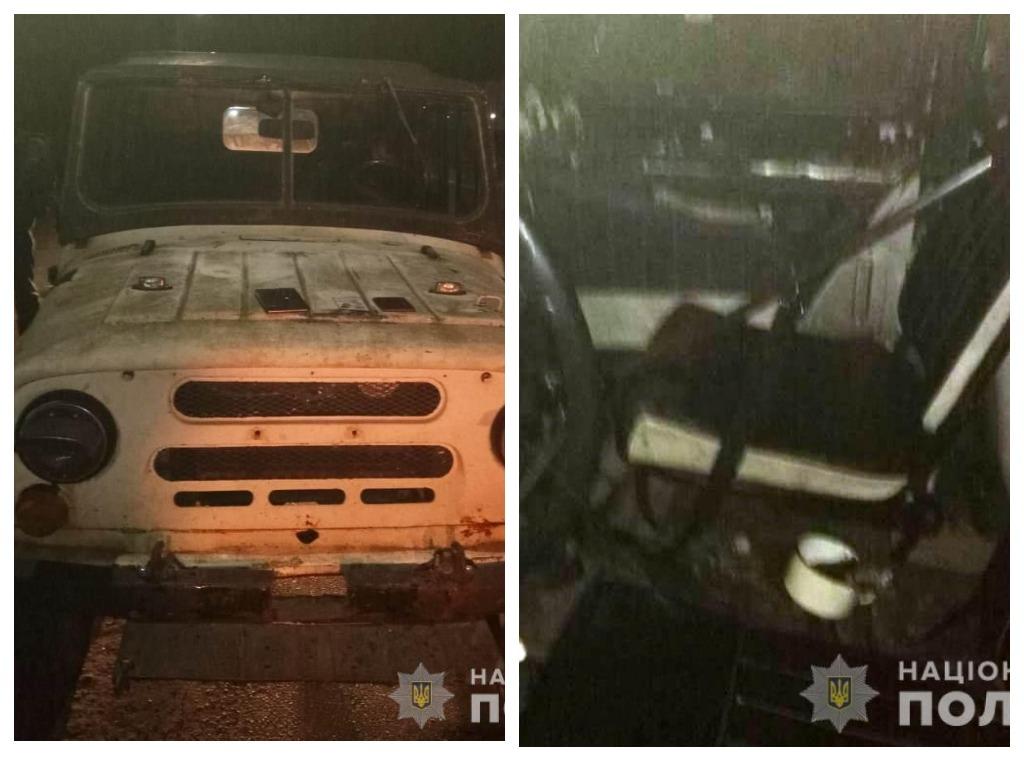 Полицейские остановили УАЗ, в котором был убитый мужчина и ружье