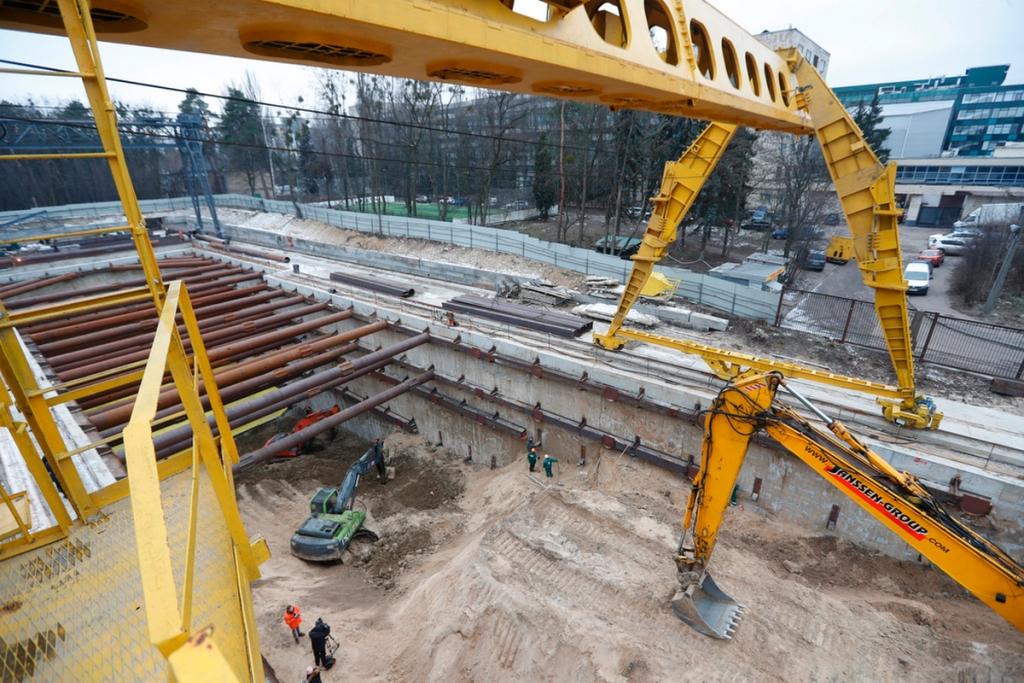 """В апреле начнется прокладывание туннеля, который соединит """"Мостицкую"""" и """"Сырец"""""""