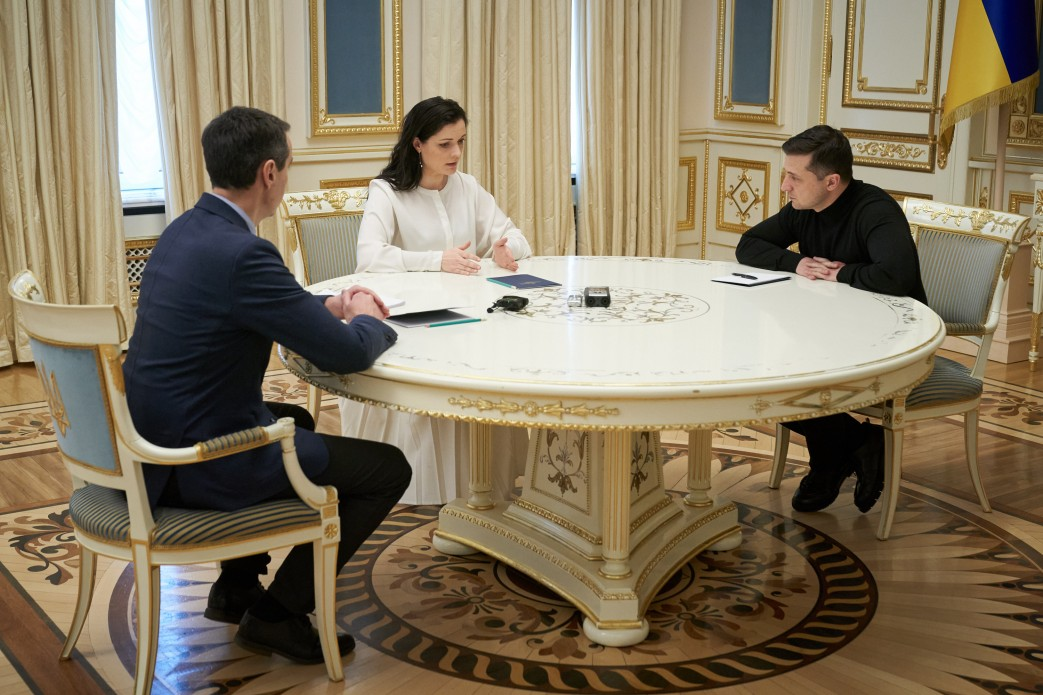 Владимир Зеленский встретился с руководством Минздрава