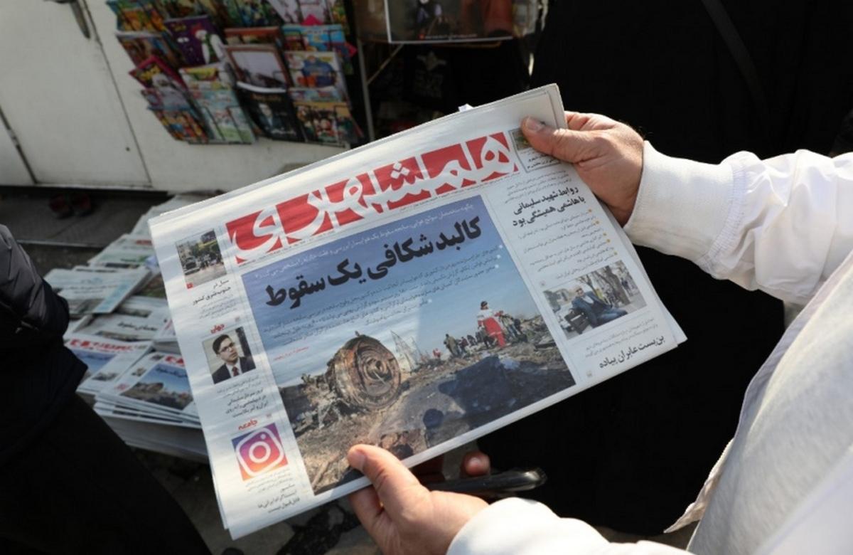 Иран отказался передавать черные ящики другим странам