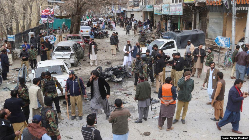 В Пакистане смертник подорвался на митинге исламистов: 8 человек погибли