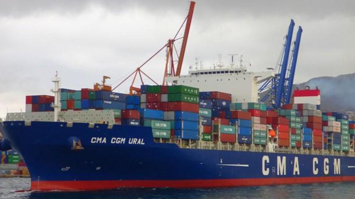 13 февраля в одесский порт прибудет контейнеровоз из Китая