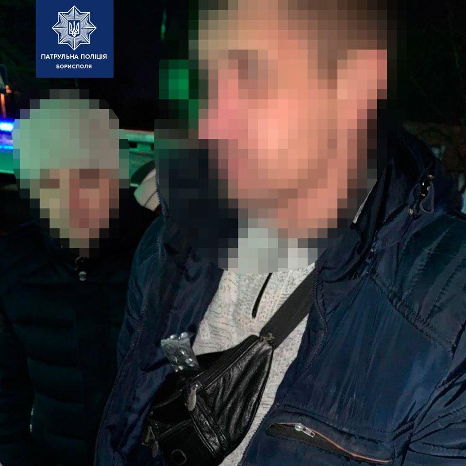 В Борисполе патрульные остановили водителя за нарушения ПДД