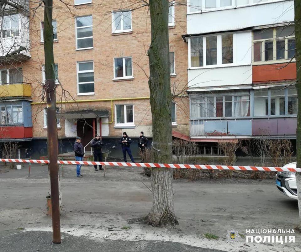 В подвале пятиэтажки под Киевом нашли тротил