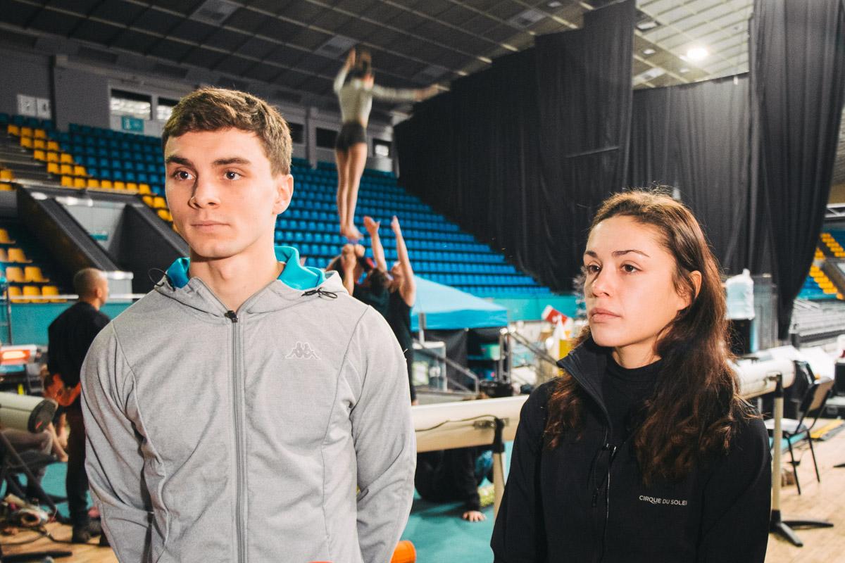 Вот, к примеру, Кирилл и Николь - акробат и фигуристка из Беларуси и России