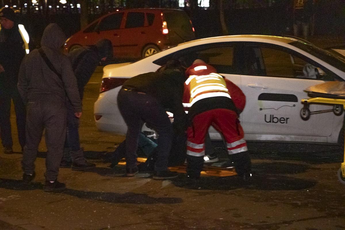 В результате аварии пострадали три девушки
