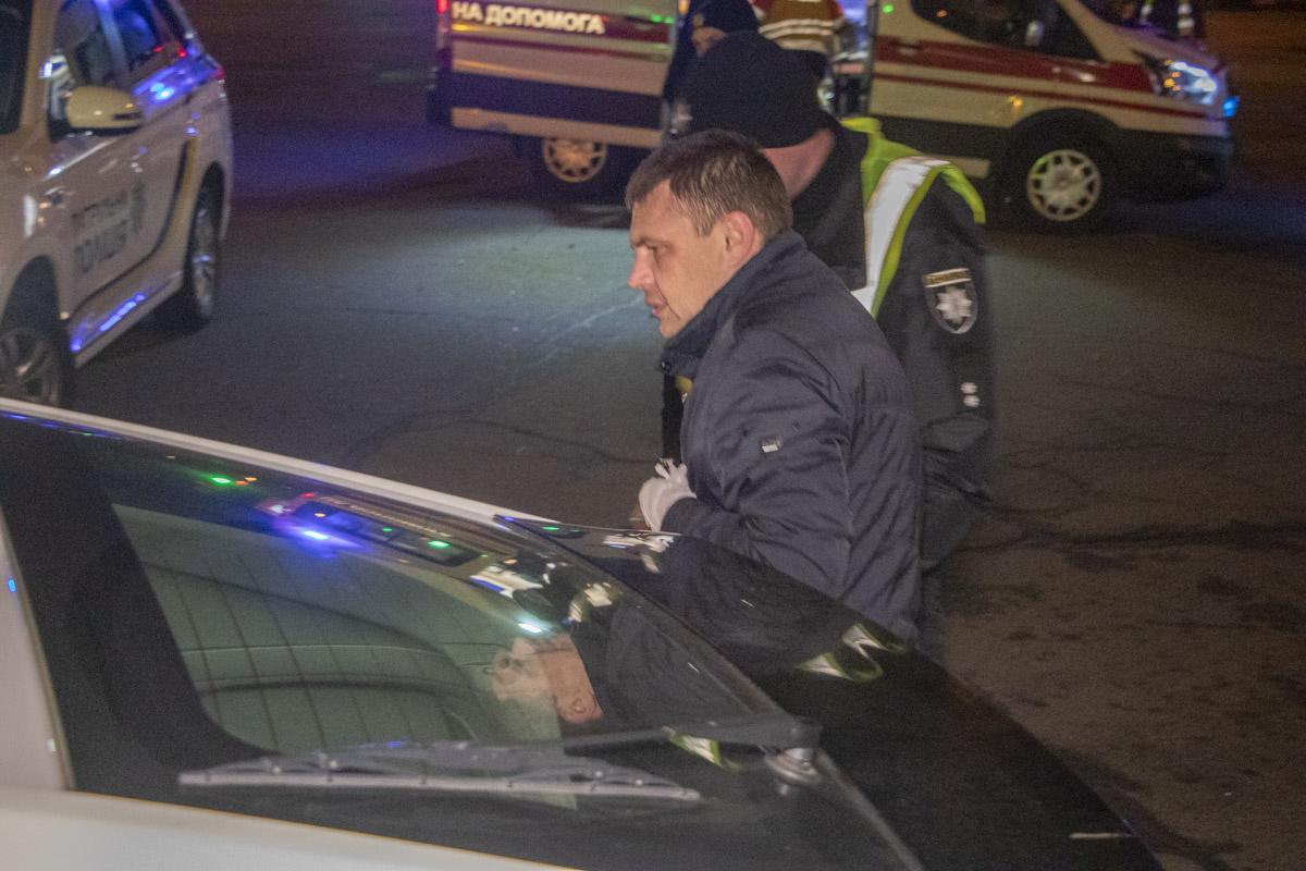 Водитель Hyundai имел признаки алкогольного опьянения