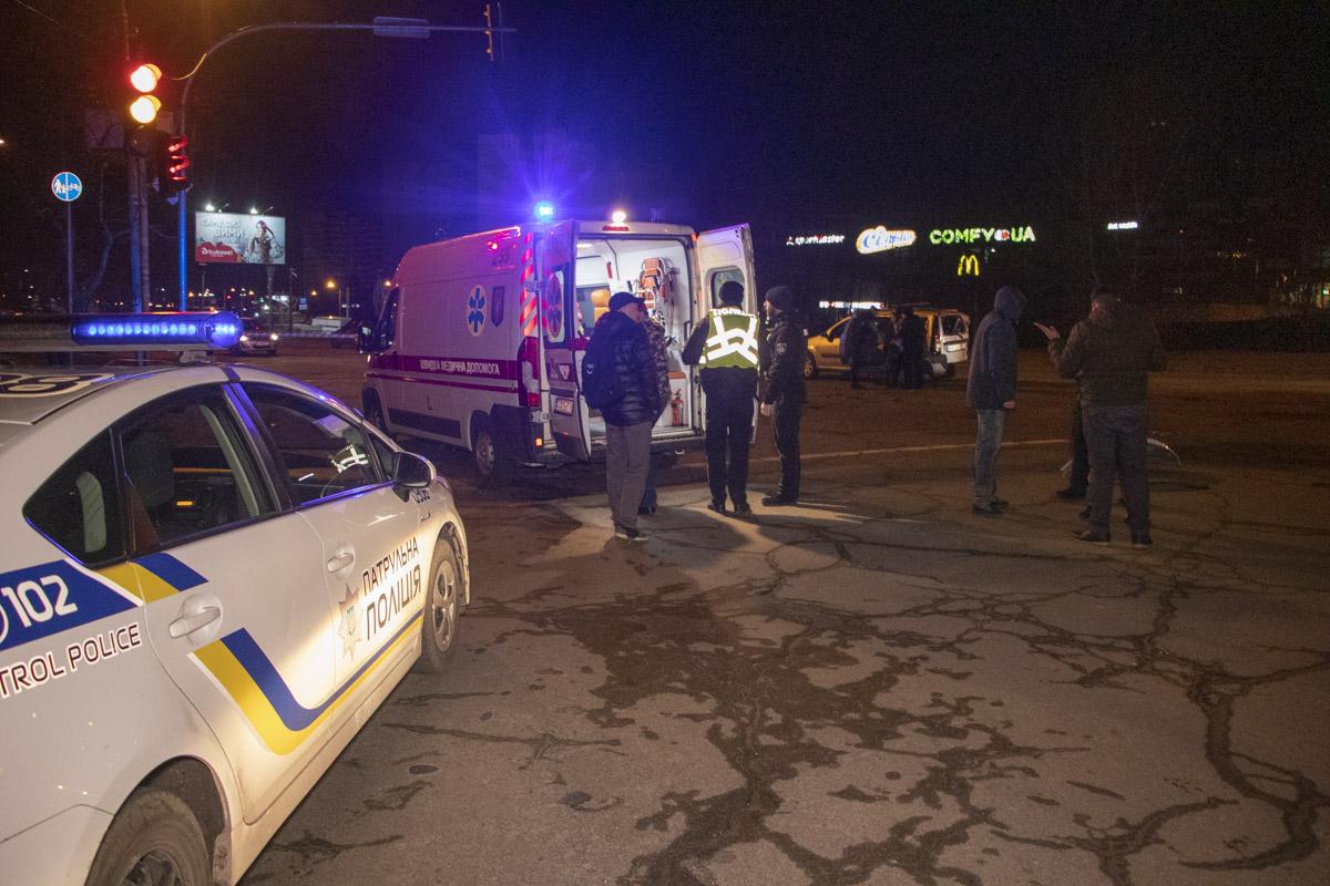 Пострадавших забрали в больницу скорой помощи