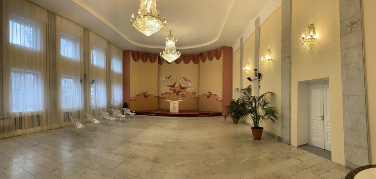 Зал РАГС в Дарницком районе выглядит вот так