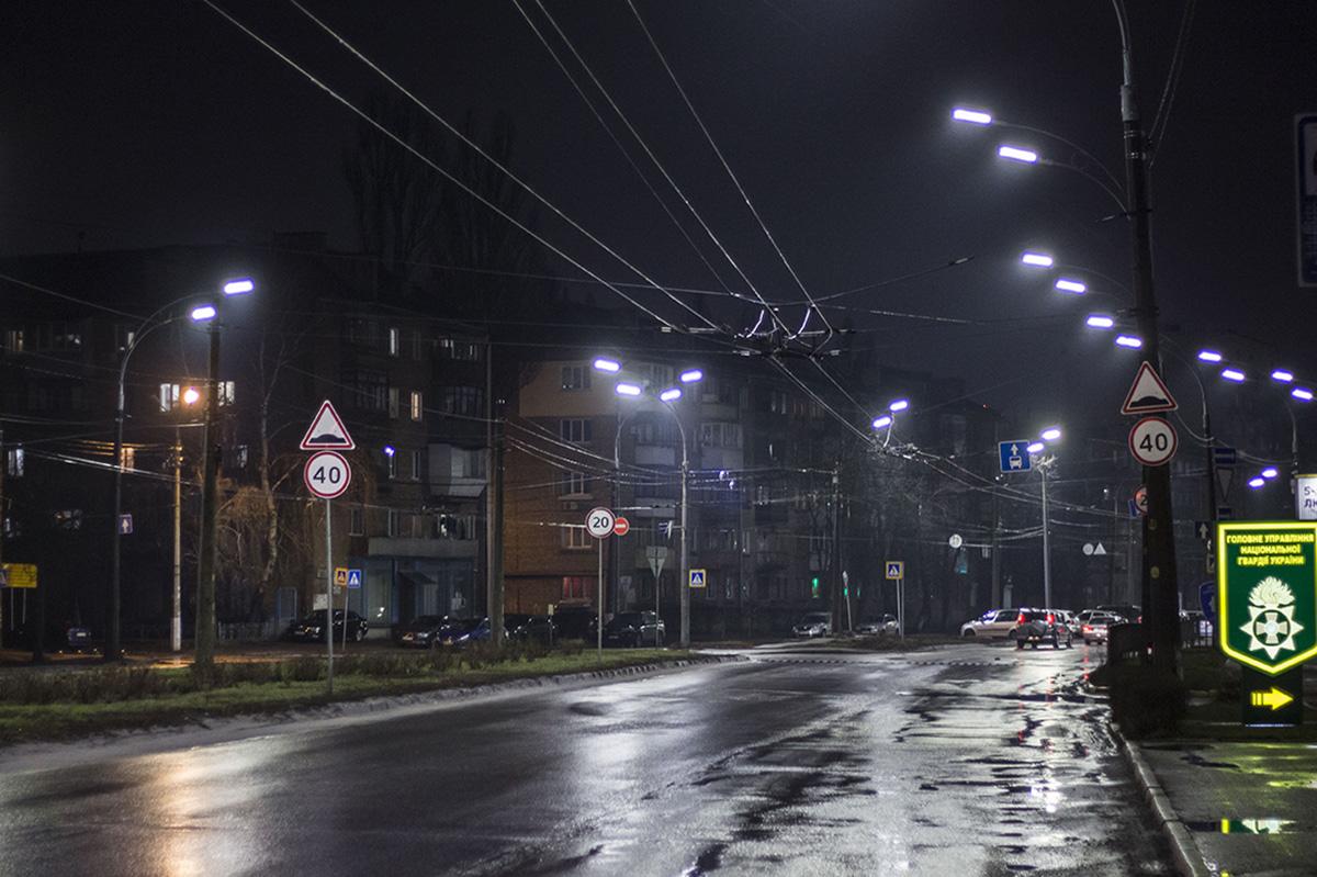 На Народного Ополчения находится главный офис патрульной полиции Киева