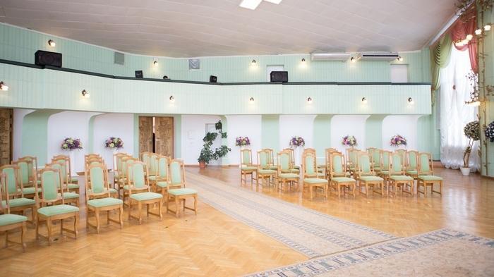 Главный зал для бракосочетаний - в Киевском городском отделе РАГС