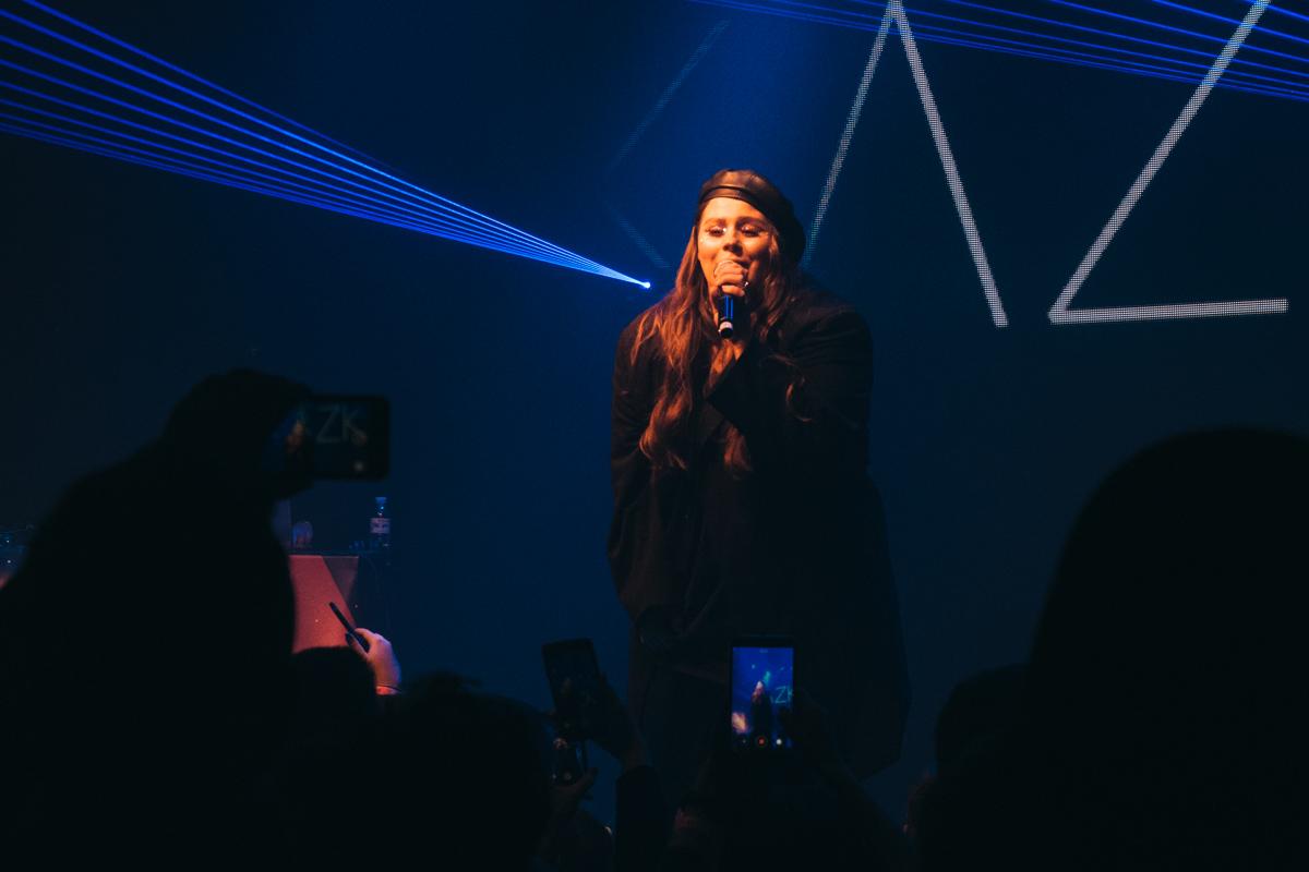 Кроме основной программы на сцене выступали и другие артисты, среди которых была KAZKA