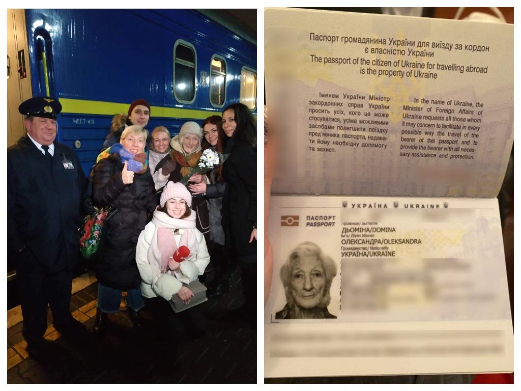 Женщине восстановили паспорт и теперь с новым заграном она сможет попасть в Крым