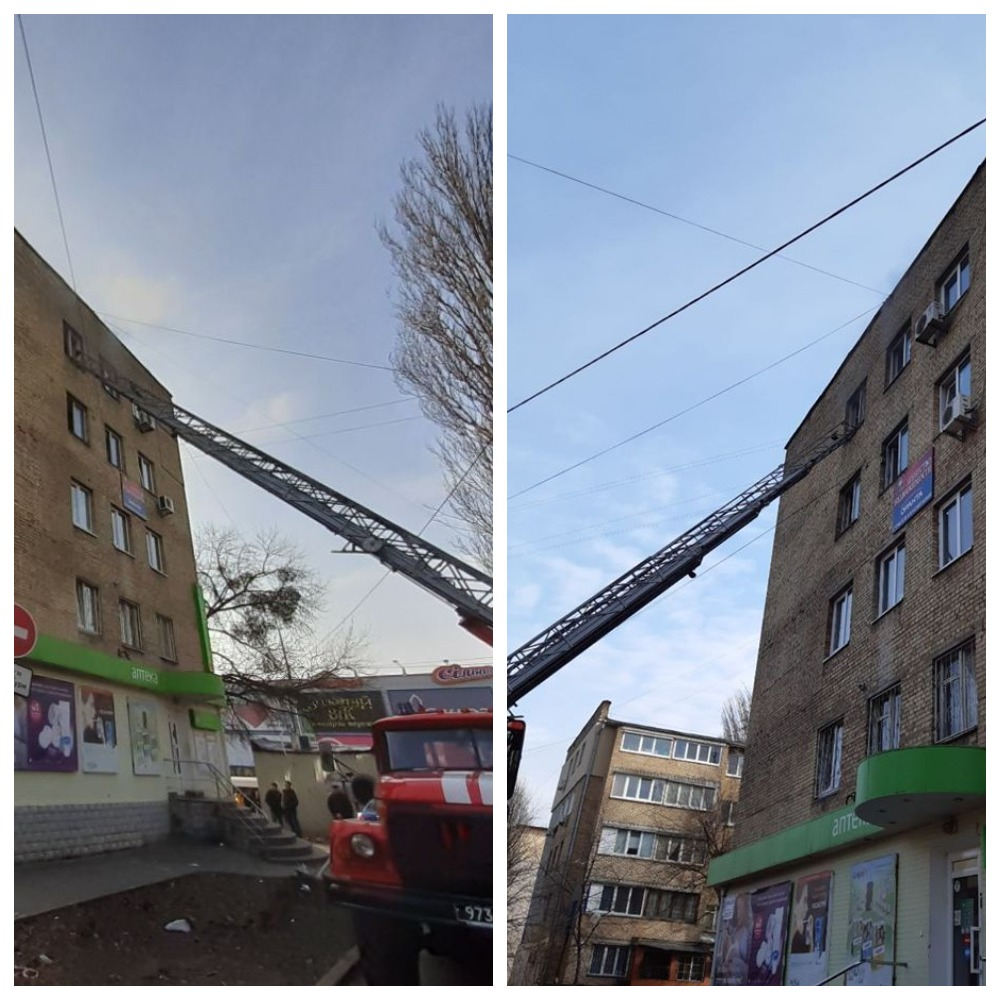 В Киеве на Гната Юры горела исполнительная служба