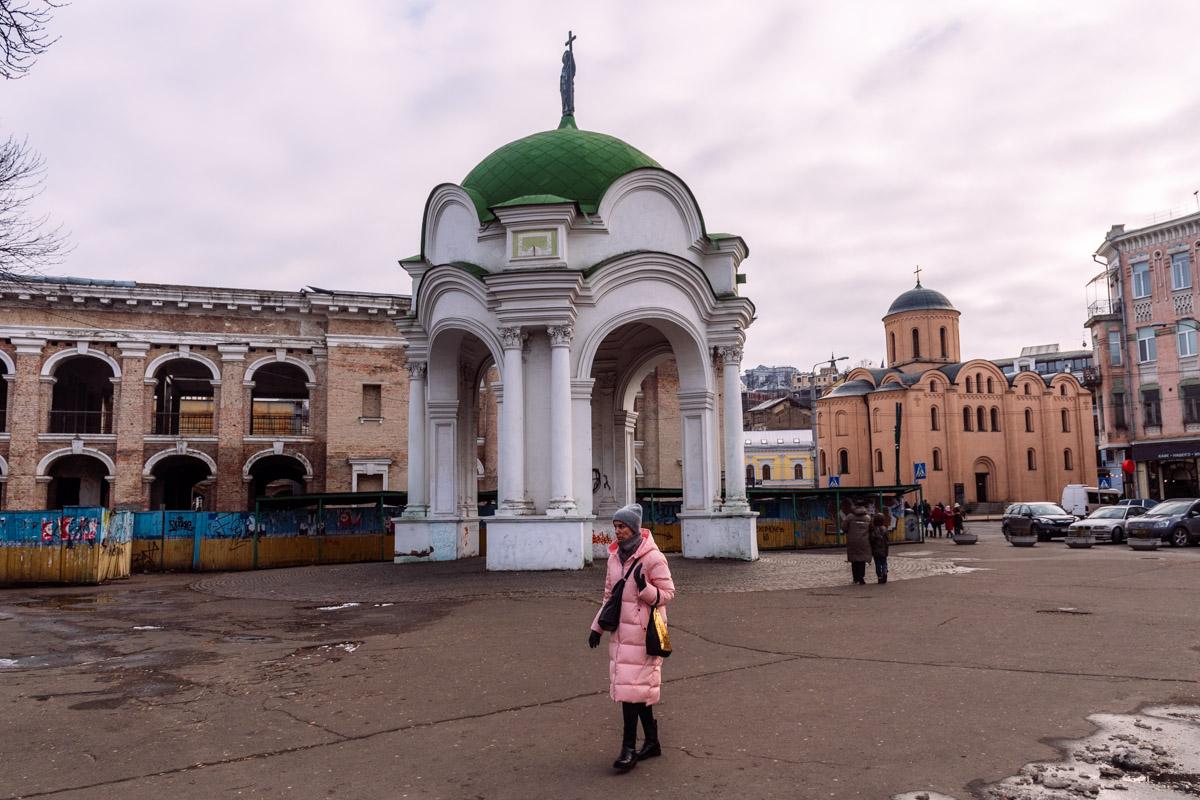 Один из старейших фонтанов Киева