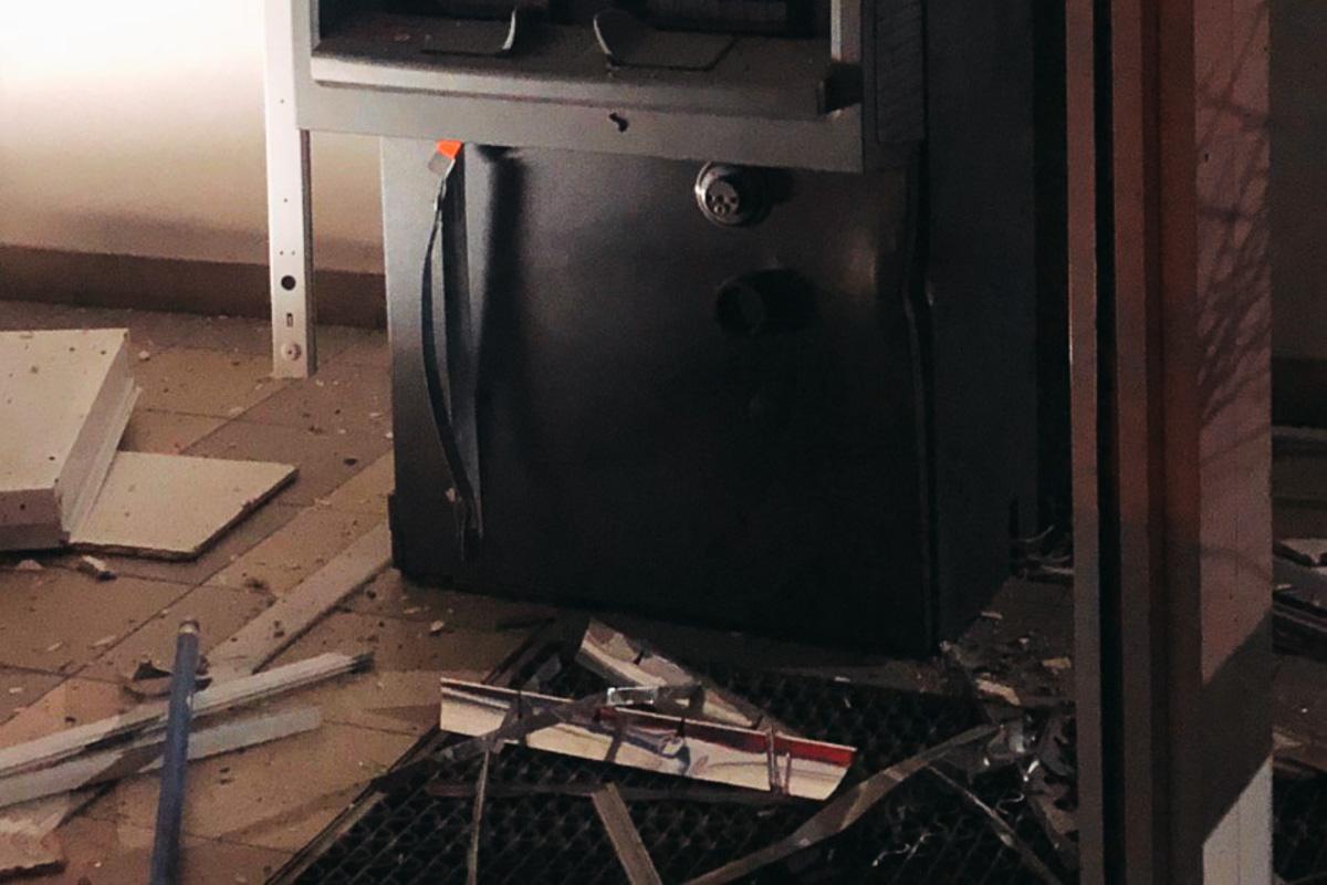 От взрыва сейф не открылся