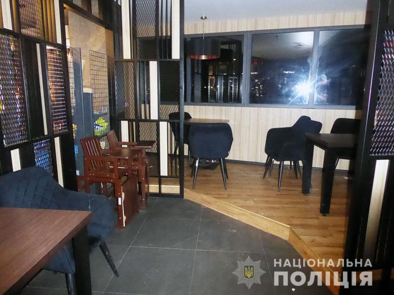 В кафе в Бортничах между двумя компаниями возник конфликт из-за громкой музыки