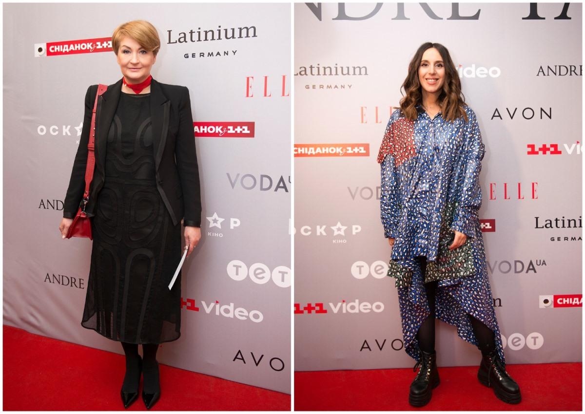 Основательница Ukrainian Fashion Week Ирина Данилевская и певица Джамала