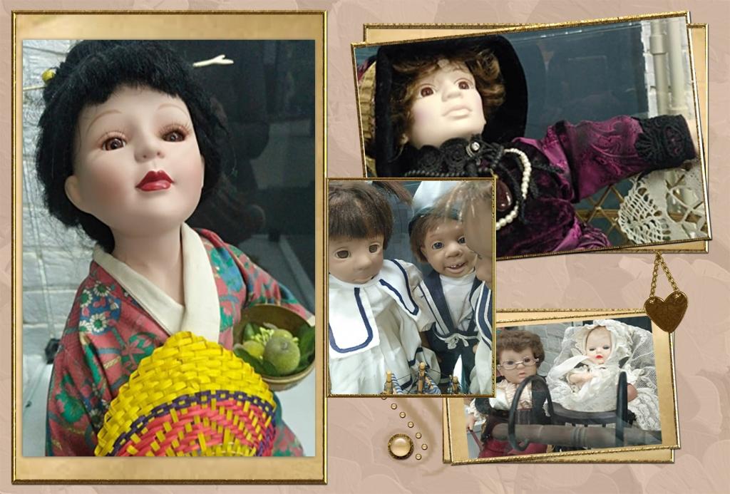 Выставка кукол Ирины Хаджиновой - это возможность увидеть уникальную коллекцию старинных кукол