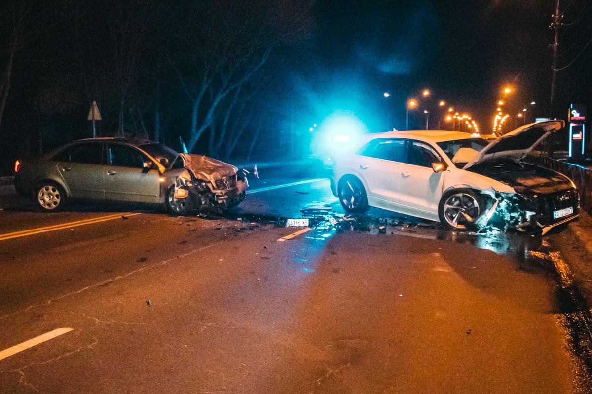 Подробности аварии устанавливают правоохранители
